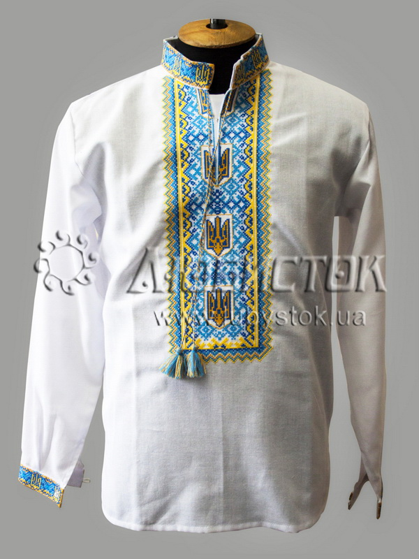 Вишита сорочка хрестиком ЧСВ 45-1