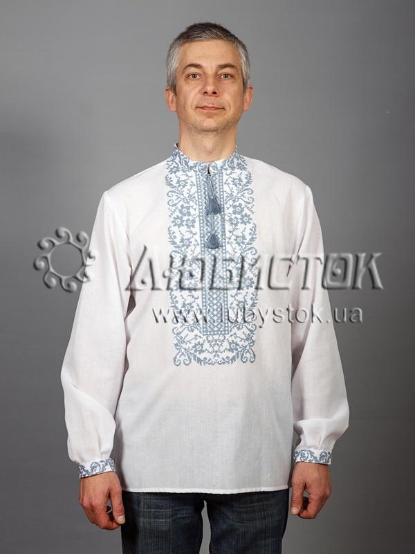 Вишита сорочка хрестиком ЧСВ 48-3