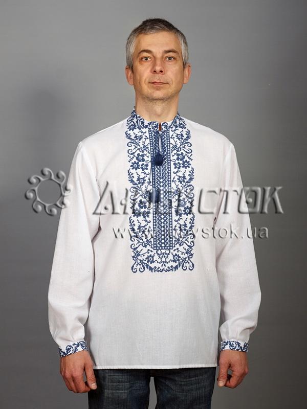 Вишита сорочка хрестиком ЧСВ 48-4