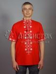 Вишита сорочка хрестиком ЧСВ 49-1