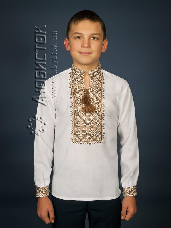 Вишита сорочка хрестиком ЧСВ 15-5-Д