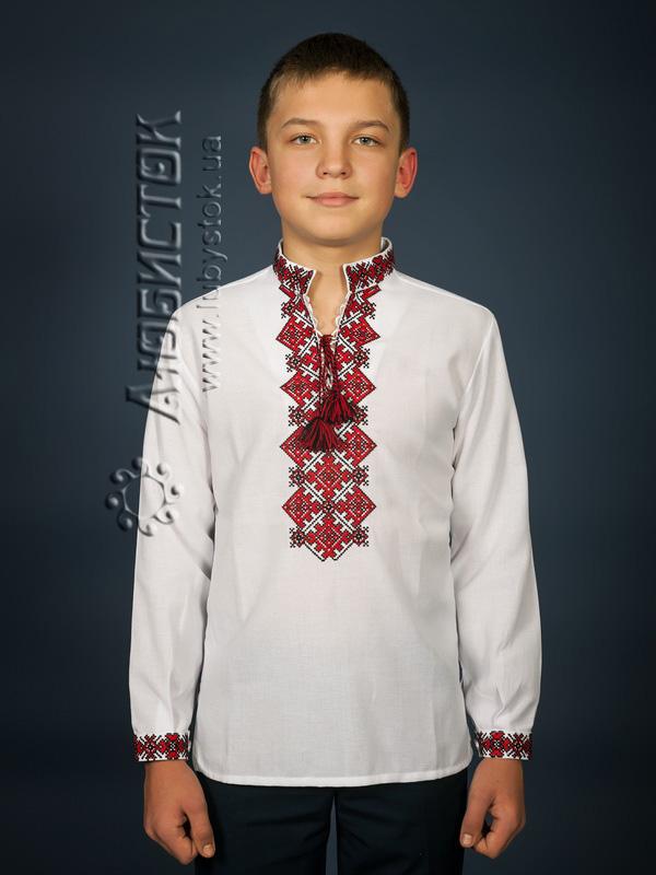 Вишита сорочка хрестиком ЧСВ 16-1-Д
