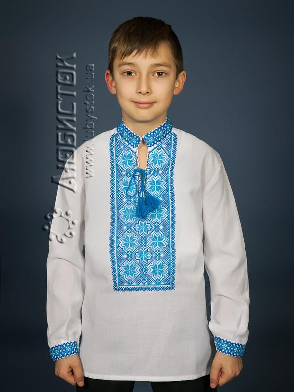 Вишита сорочка хрестиком ЧСВ 17-2-Д