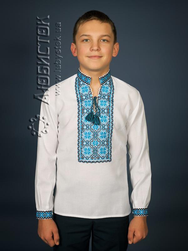 Вишита сорочка хрестиком ЧСВ 17-4-Д