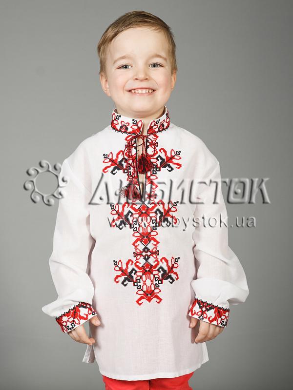 Вишита сорочка хрестиком ЧСВ 28-3-Д