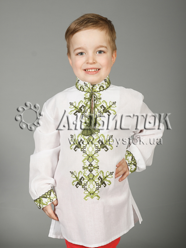 Вишита сорочка хрестиком 28-4-Д