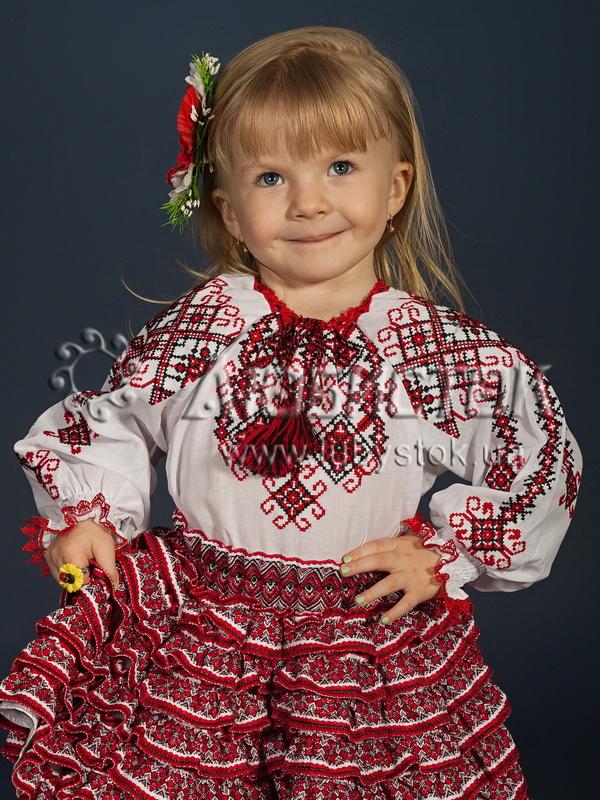 Вишиванка для дівчинки ЖБВ 14-1