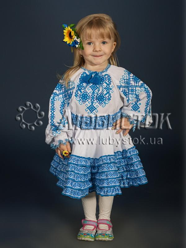 Вишитий костюм для дівчинки  ДКВ 1-2