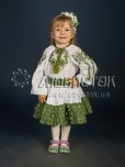 Вишитий костюм для дівчинки  ДКВ 1-3