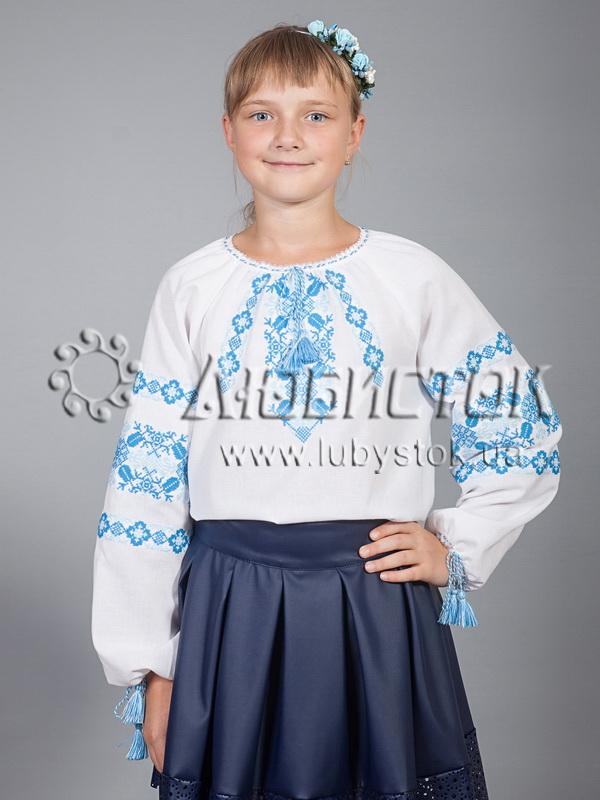Вишиванка для дівчинки ЖБВ 15-4