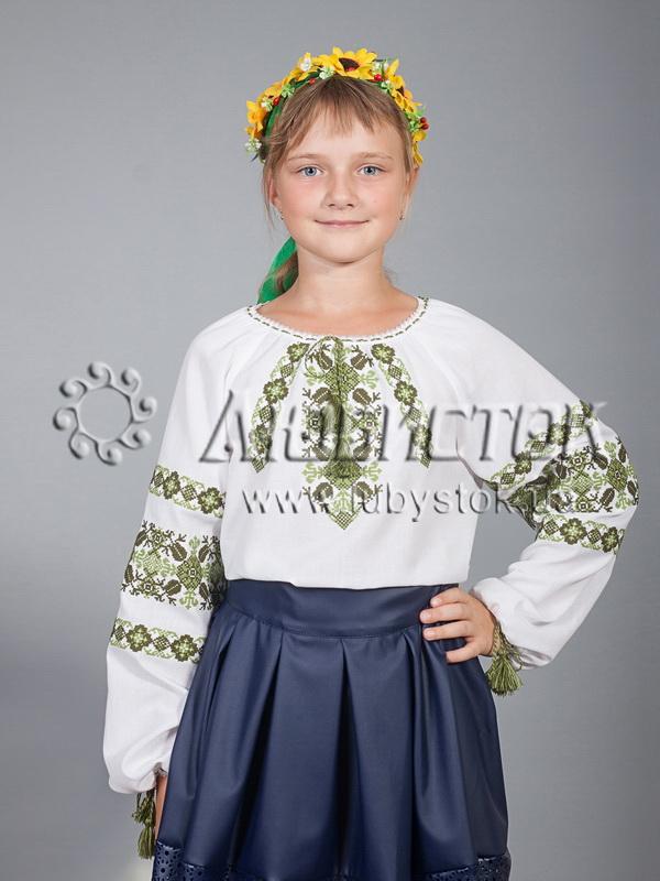 Вишиванка для дівчинки ЖБВ 15-5