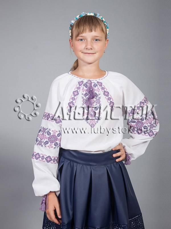 Вишиванка для дівчинки ЖБВ 15-6