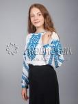 Вишиванка хрестиком жіноча ЖБВ 9-2