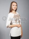 Вишиванка хрестиком жіноча ЖБВ 10-6