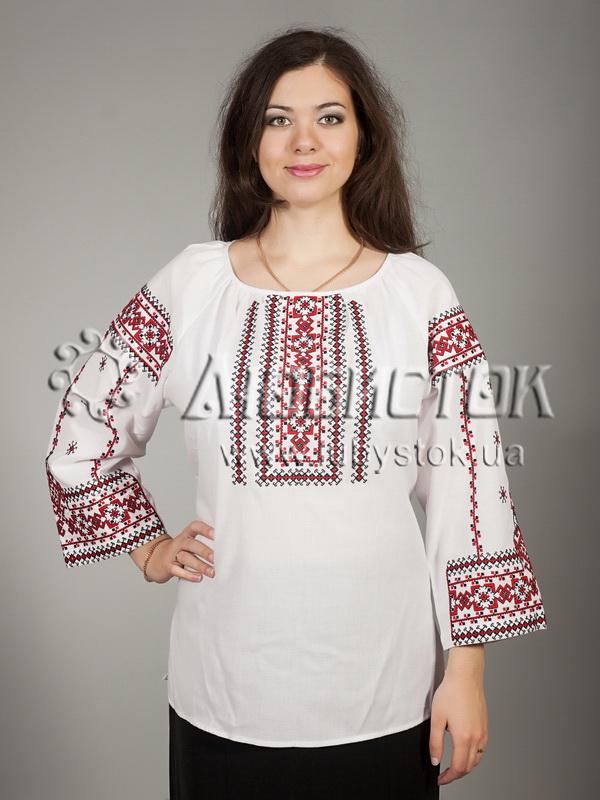 Вишиванка хрестиком жіноча ЖБВ 16-1