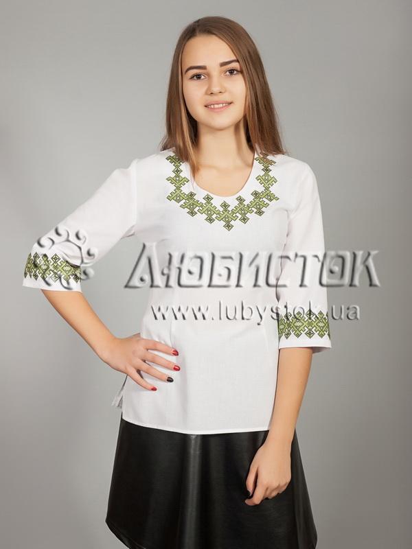 Вишиванка хрестиком жіноча ЖБВ 21-2