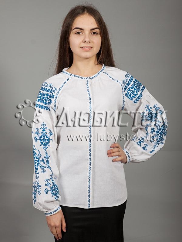 Вишиванка хрестиком жіноча ЖБВ 24-1