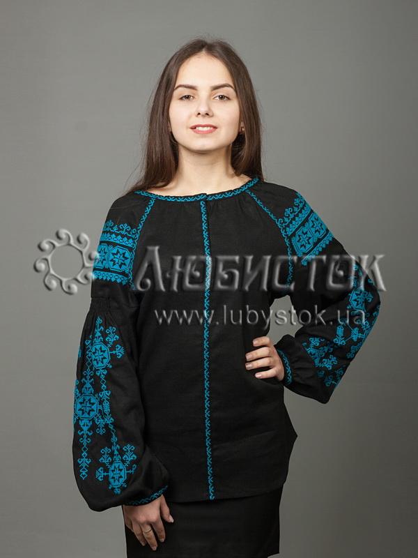Вишиванка хрестиком жіноча ЖБВ 24-8
