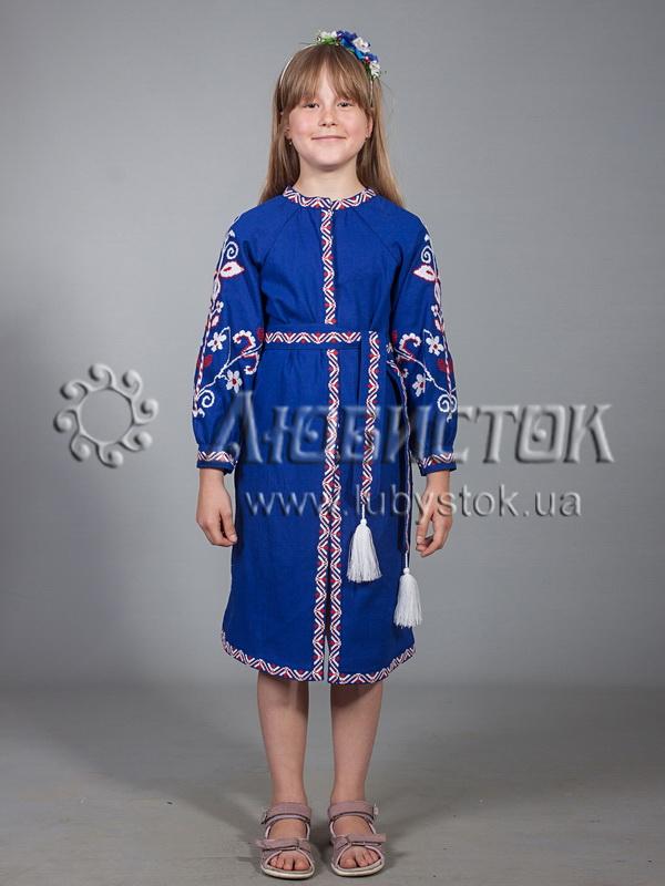 Вишита сукня для дівчинки ЖПВ 11-1