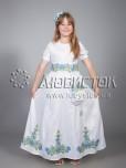 Вишита сукня для дівчинки ЖПВ 13-1
