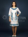 Вишита сукня хрестиком ЖПВ 4-2