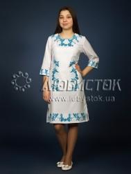 Вишита сукня хрестиком ЖПВ 4-5