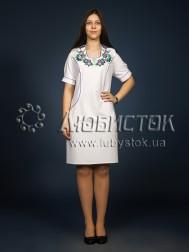 Вишита сукня гладдю ЖПВ 7-1
