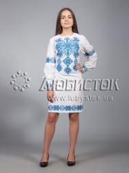 Вишита сукня хрестиком ЖПВ 9-3