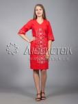 Вишита сукня хрестиком ЖПВ 15-4