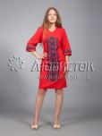 Вишита сукня хрестиком ЖПВ 15-5