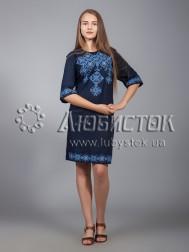 Вишита сукня хрестиком ЖПВ 16-2