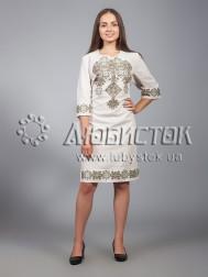 Вишита сукня хрестиком ЖПВ 16-4