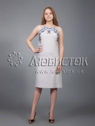 Вишита сукня хрестиком ЖПВ 18-2