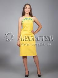Вишита сукня хрестиком ЖПВ 18-3