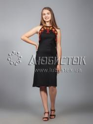 Вишита сукня хрестиком ЖПВ 18-6
