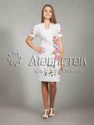 Вишита сукня хрестиком ЖПВ 20-1