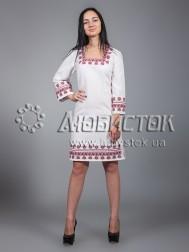 Вишита сукня хрестиком ЖПВ 23-1