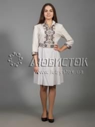 Вишита сукня хрестиком ЖПВ 32-1