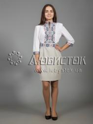 Вишита сукня хрестиком ЖПВ 35-1
