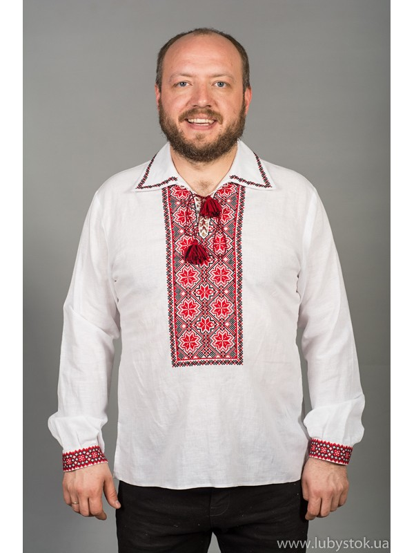 Вишита сорочка хрестиком ЧСВ 56-1