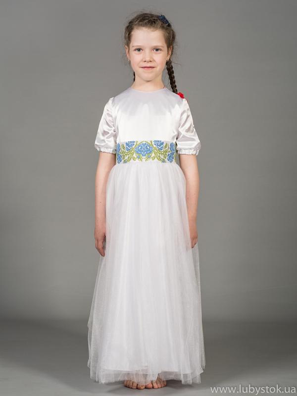 Вишита сукня для дівчинки ЖПВ 42-1
