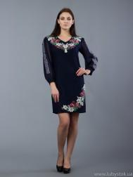 Вишита сукня хрестиком ЖПВ 44-1