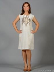 Вишита сукня хрестиком ЖПВ 45-3