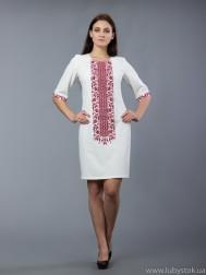Вишита сукня хрестиком ЖПВ 48-5