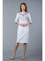 Вишита сукня хрестиком ЖПВ 52-1