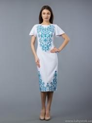 Вишита сукня хрестиком ЖПВ 56-1