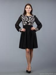 Вишита сукня хрестиком ЖПВ 57-1