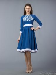 Вишита сукня хрестиком ЖПВ 58-1