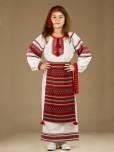 Вишитий костюм для дівчинки ЖК 40-16