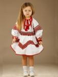 Вишитий костюм для дівчинки ЖК 54-2